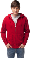 &quot;Volleyball Zip Hooded Sweatshirt&quot;