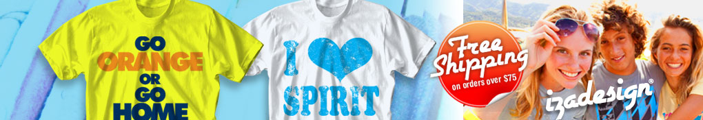 IZA Design School Spirit Shirts