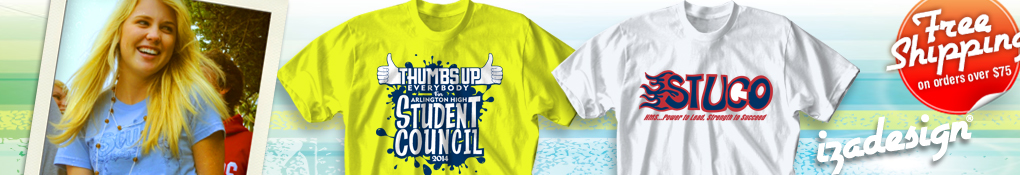 IZA Design School Spirit Shirts