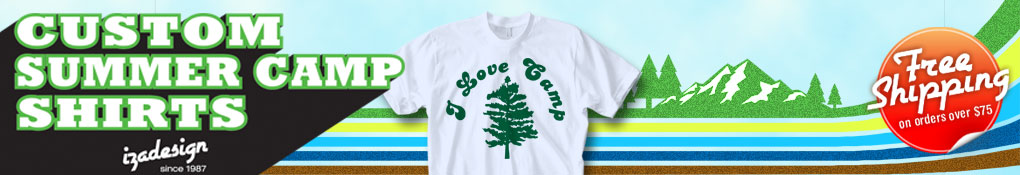 Custom Summer Camp T Shirt Designs