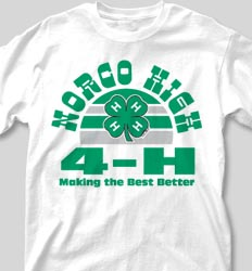 4-H Club Shirts - Sunset Sounds clas-660t7