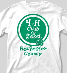 4-H Club  Shirts - Field Day is Good desn-452g4