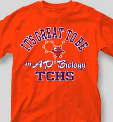 AP Biology Shirts - Great to Be cool-336g2