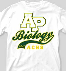 AP Biology Shirts - Sport Tail desn-615t5