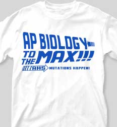AP Biology Shirts - AP is the Future cool-339a1