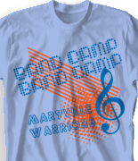 Band Camp T Shirt - Billboard desn 463b3
