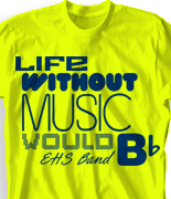 Band Camp T Shirt - Dang desn-289e2