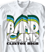 Band Camp T Shirt - Nassau clas-792p2