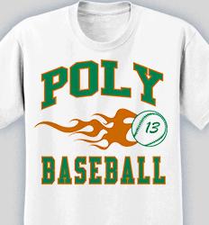 Baseball Shirt Design - New Vintage desn-519n5