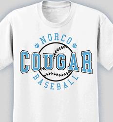 Baseball Shirt Design - Retro Ball desn-619r3