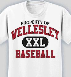 Baseball Shirt Design - New Vintage desn-519n4