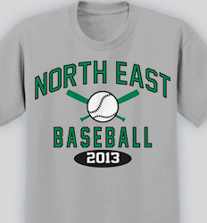 baseball shirt design collegiate heater desn 353c4 - Baseball T Shirt Designs Ideas