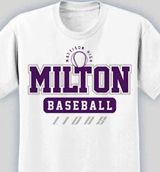 Baseball Shirt Design - Baseball U desn-604b1
