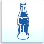 coke bottle signature template