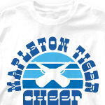&quot;Custom Cheer Shirts - Sunset Sounds 660s2&quot;