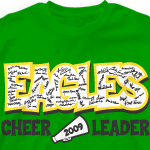 Custom Cheer T-Shirts - 824s2