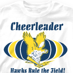Custom Cheer T-Shirts - M-Spirit 369m4