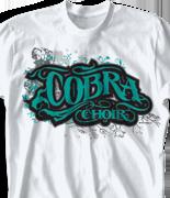 Choir Chorus T-Shirt - Scripture clas-699u9