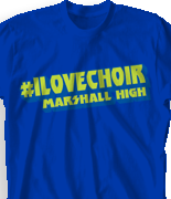 Choir Chorus T Shirt - Detroit Rock City clas-889g1