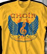 Choir Chorus T Shirt - Supreme Sound desn-815s1