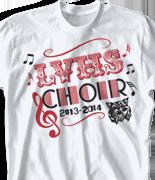 Choir Chorus T Shirt - Midway Madness clas-950o3