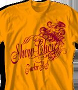 Choir Chorus T Shirt - Prescript clas-888p9
