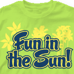 Church Design T Shirt - Fun Sun 280f1