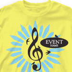Church Design Shirt - music event 319m1