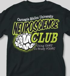 College T Shirts - Neuroscience Club cool-76n1