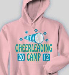 Cheer Hooded Sweatshirt - Cheer Camp desn-468c1