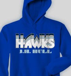 Spirit Hooded Sweatshirt - Nassau clas-792o5