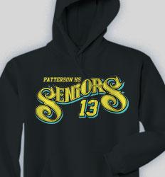 Senior Hooded Sweatshirt - Slick Seniors clas-855t2