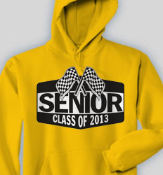 Senior Hooded Sweatshirt - Finish Line desn-590f2