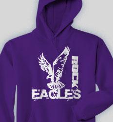 Spirit Hooded Sweatshirt - Mascot Fashion clas-590o8
