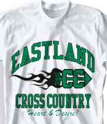 Cross Country T Shirt - New Vintage desn 519n1