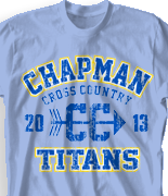 Cross Country T Shirt - X-Classic Jersey desn-517x1
