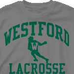 Lacrosse Team Shirts - Vintage-460z7