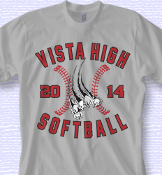 softball shirt design fastpitch rip desn 868f1 - Baseball T Shirt Designs Ideas