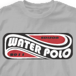 Water Polo T Shirt - Wave Pool 461w4