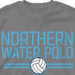 Water Polo T Shirt - Stencil Sport 275s1