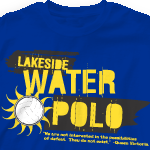 Water Polo Team Shirt - Pacific Edge 273p1