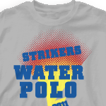 Water Polo Team Shirts - Strikers 277s1