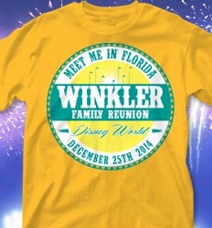 Disneyland Family Reunion Shirts - Reunion Classica desn-752r3