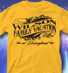 Disneyland Family Vacation Shirts - Royal Line clas-725u6