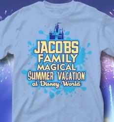 Disneyland Family Vacation Shirts - Thumbs Up desn-918t2