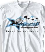Elementary T Shirt  - Senior Stars clas-57t9