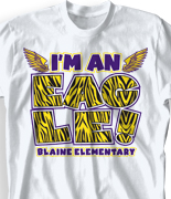 T Shirt Design Ideas For Schools make it a memorable year with the slogans that you have heard around your school with custom graduation t shirts we can create quality products with ease Elementary T Shirt My Pride Desn 927m1