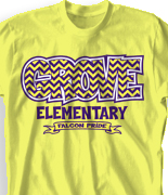 elementary t shirt design spirit pattern desn 923s1 - School Spirit T Shirt Design Ideas