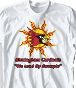 Elementary T Shirt  - Sun Spirit desn-922s1