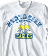 Elementary T Shirt  - Aloha Athletics clas-831c3